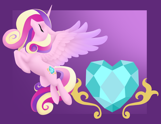 She is the Heart by MythPony