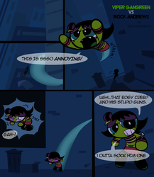 PPG OCT- Viper vs Rock (Page 1) by Eleanorose123