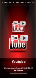 Youtube Icons by polimero