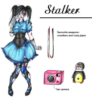 :CP OC: Stalker by MikuParanormal