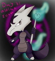 Day 31 Alolan Form by Mongoosegoddess