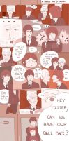 AT-The Beatles comic: A Hard Day's Night by Coffee-Coke