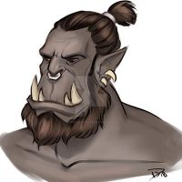 orc  by Deesketches