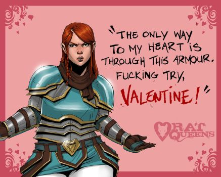 Rat Queens Vday: Violet by johnnyrocwell
