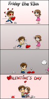 Friday the 13th to Valentines Day by NaguX