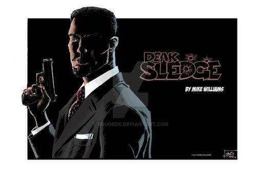 SLEDGE noir promo poster by RougeDK