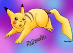 Unexpected Pikachu drawing by GhostLiger
