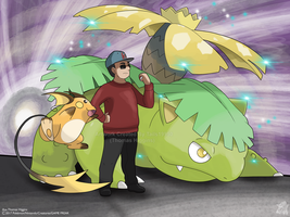 Commission - Luke's Pokemon Team by Tails19950