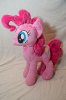 Pinkie Pie Plushie by makeshiftwings30