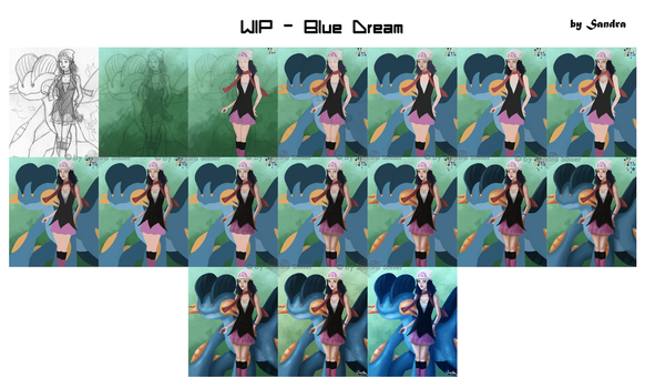 WIP Blue Dream by Sadako-xD