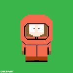 Kenny McCormick Pixel Art by cheapbit