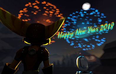 Happy New Year 2018 by GeneralRatchet