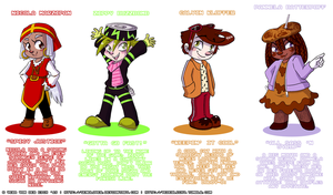 My Sugar Rush Characters by Genolover