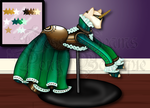 Steam and Green GGG Gown Adopt [OPEN] by Pony-boutique