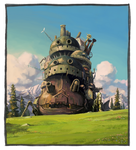 Howl's Moving Castle by GrilledandCheesed