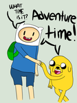 What time is it? AT by DRAWINGGIRL10