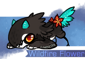Wildfire Flower by NebNomMothership