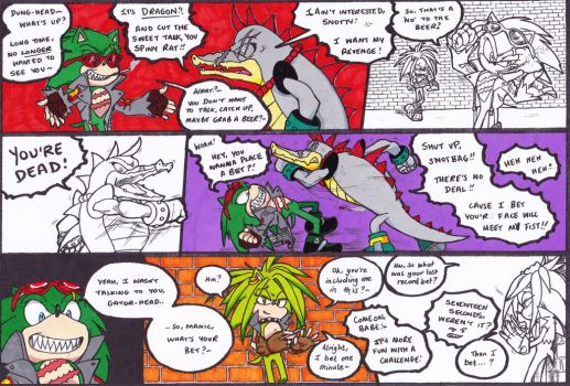 Sonic and Shadow: Siblings Chapter 2 part 13 by DawnHedgehog555