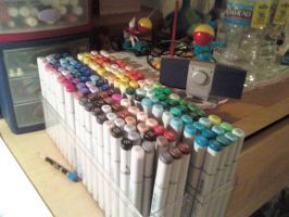 Copic collection by CallieFink