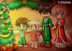 Lighting Of Family Christmas Tree - Little Tails by TomFraggle