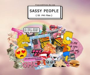 SA$$Y PEOPLE | .png pack by FranceEditions