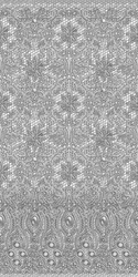 Repeating lace on mesh pattern by Tinselfire