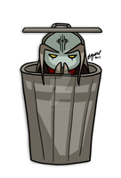 Master...Trashcan? by Anilede