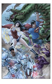 Superman 16 Cover by tannerwiley