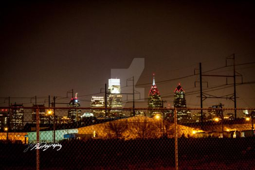Philly - Grays ferry view by SkeIator