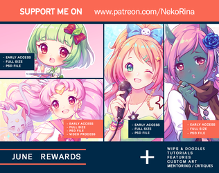 Patreon June 2018 preview by Neko-Rina