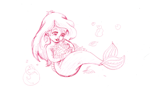 The Little Mermaid ariel by kanogt