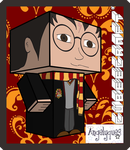 Harry Potter Cubeecraft by angelyques