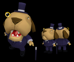 Business Dog by gsilverfish