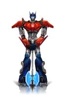 KTE: Optimus Prime Redisigned by Naihaan