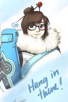 Mei Sketch by shinobisena