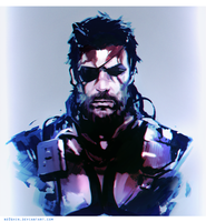 Venom Snake Sketch by NE0SHIN