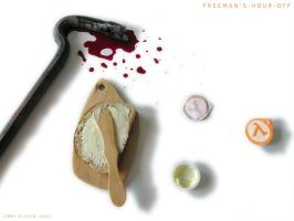 Freeman's Hour Off by J-i-m-p-a