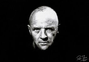 Anthony Hopkins by earlierbirdscenic