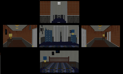 C4D to MMD: FNaF4 stage DL by CreepypastaLily