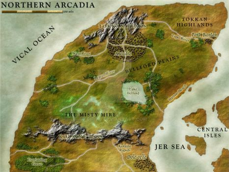 Commission: Northern Arcadia by Cirias
