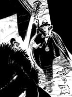 Phantom Stranger Commision by hakantacal