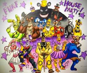 FNAF House Party Contest 1 by animedragon12000