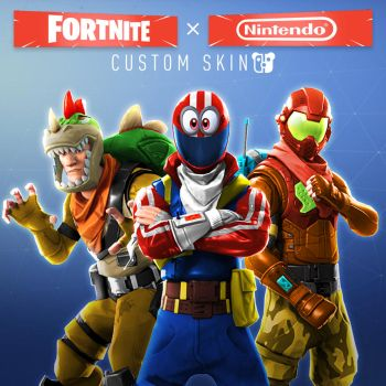 Nintendo x Fortnite by PeterisBeter