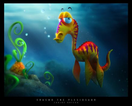 Erasmo the Plesiosaur by stroggtank