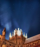 Ely Cathedral HDR and Stars by Creative--Dragon