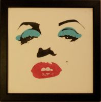 Marilyn-Blue Eye Shadow by shawnie-b