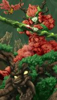 Heroes of Newerth - Topiary Warden by MichaelMayne