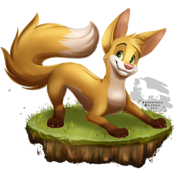 Fox Redraw by Brontonia