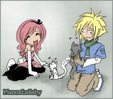 Cloud, Lully, and Kitties ID by PianoxLullaby