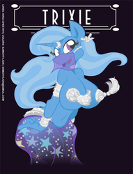 Trixie Pinup by Samoht-Lion